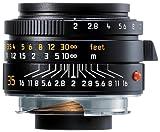 Leica Summicron-M 35 mm f/2 Kamera-Objektiven (7/5, 3,53 cm, 0,7 M, Leica M, schwarz, 5,3 cm)