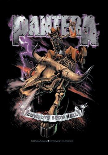 Pantera - Cowboys From Hell Flagge (Pantera Flagge)