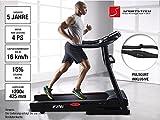 Sportstech F26 Profi Laufband mit Smartphone App Steuerung Pulsgurt im Wert von 39,90 € inklusive – MP3 AUX Bluetooth 4 PS 16 km/h HRC Training – kompakt klappbar verstaubar - 2