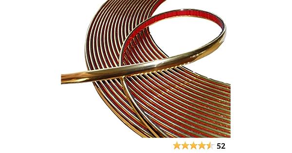 Aerzetix 8mm 4 5m Stick Klebeband Goldene Farbe Gold Elektronik