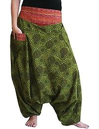 bonzaai sarouel femme mode hippie pantalon de yoga Naturverbunden