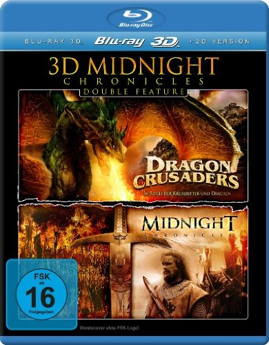 KSM GmbH 3D Midnight Chronicles - Double Feature (Dragon Crusaders 3D / Midnight Chronicles 3D) [3D Blu-ray]