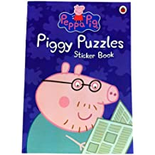Peppa Pig: Piggy Puzzles Sticker Book