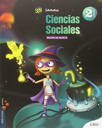 Ciencias Sociales 2º Primaria (Región de Murcia) (Superpixépolis) - 9788426396907