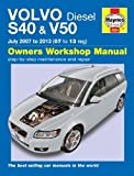 Volvo S40 & V50 Diesel Owner's Workshop Manual: 2007-2013 (Haynes Owners Workshop Manuals) by Randall, Chris (2013) Hardcover