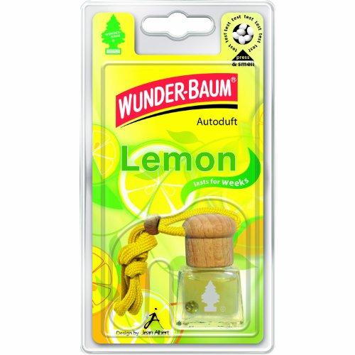 Wunder-Baum 461201/4 Lufterfrischer 4-er Set Duftflakon Lemon