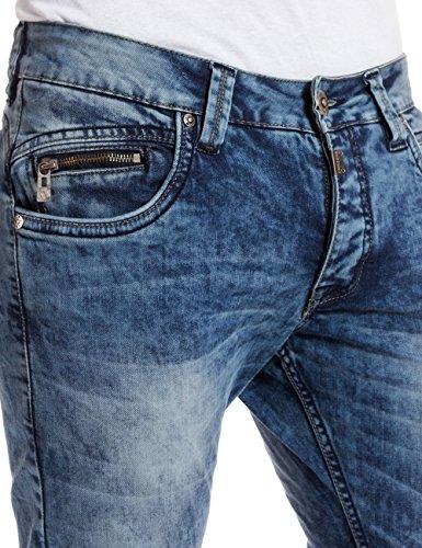 Timezone - Jeans - Slim Homme Bleu - Blau (loom wash 3821)