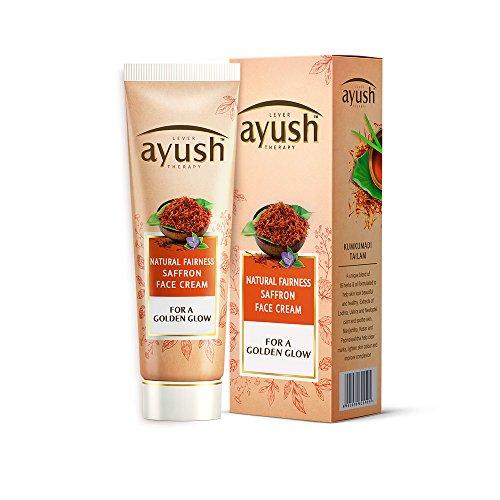 Ayush Natural Fairness Saffron Face Cream, 50g