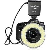 Aputure Amaran Anneau de LED lumineux pour Nikon D600 D610 D700 D800 D90 D4S D4 D300S D3000 D3100 D3200 D3300 D7000 D7100 D5000 D5100 D3X D3S