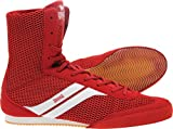 Lonsdale Boy's Stealth Boxing Boot - Red/White, Size 38