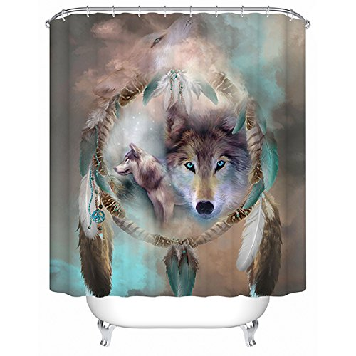 gris-rideau-de-douche-loup-impermeable-anti-moisissure-etanche-en-polyester-rideau-de-salle-de-bains