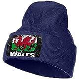 Drapeau Pays De Galles Joueur De Football De Rugby Bonnet Casquette Hommes Femmes Chapeaux en Tricot Bonnet Stretch & Soft