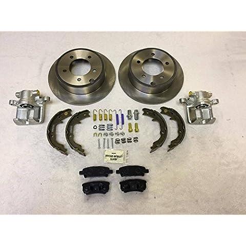 raybestos Carlson NTY LPB freni posteriori Grande Kit di riparazione jeep Compass & Patriot MK 2007–2015262mm dischi