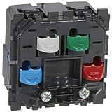 LEGRAND - Sortie de cable bornes auto face avant livrées avec serre-câbles LEGRAND CELIANE 067183 - LEG-067183