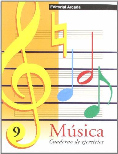Música. Cuaderno De Ejercicios 9 (Musica) por Vv.Aa.