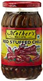 #1: Mother's Recipe Red Stuffed Chilli Pickle, 400g