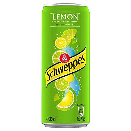 Schweppes Lemon Slim Box - 6 x 33 cl