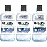LISTERINE Advanced White / LISTERINE Mundspülung mit Whitening-Effekt / Für gesunde Zähne / 3er Pack (3 x 500 ml)