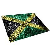 Whats On Your Wall.com Retro Jamaika-Flaggen-Glasschneidebrett Arbeitsplatte Saver-Schutz