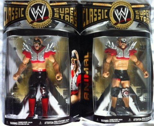 WWE The Legion of Doom klassisch Superstars Serie 27 Straße Krieger Hawk und Tier- (Of Legion Doom)
