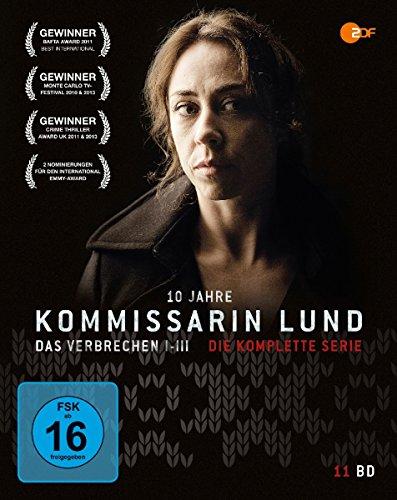 Kommissarin Lund - Die komplette Serie - 10 Jahre Jubiläums-Edition [Blu-ray] -