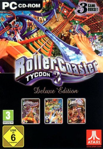 RollerCoaster Tycoon 3 (Deluxe Edition) (Pc-spiele Atari)