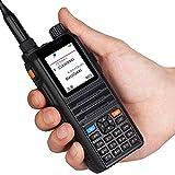 Walkie Talkie AmateurFunk Transceiver EasyTalk CP2000 DualBand VHF/UHF 2m/70cm 128 Kanäle PMR 446 Hand Funkgerät mit Headset