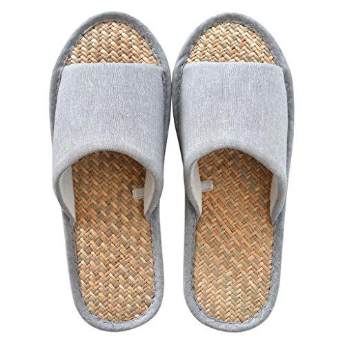 Chaussons DWW LÉté des Hommes Malan Herbe Maison Imperméable Anti-Dérapant Confortables Chaussures Respirantes Pattern 2