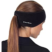 TrailHeads Goodbye Girl Ponytail Headband (Women's) - black/black