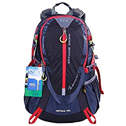 EGOGO 30L Outdoor Cycling Hiking Water-resistant Backpack Running Camping Daypack S2316 Features Unique Design and Quality Design Are you still worried about sweat when you use regular backpack when you go hiking ,climbing mountains? Forget the tradi...