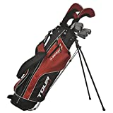 Dunlop Tour Red Golfset Graphit/Stahl 16-tlg. Linkshand