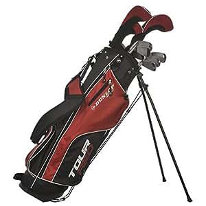 Dunlop Tour Red Golf Club Set Graphite/Steel 16 Pieces