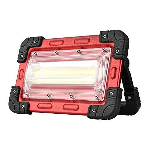 Sicherheit Lichter Indoor LED tragbares Licht COB Camping Licht 30 Watt Äquivalent 300 Watt Halogenlampe wiederaufladbare Arbeitslicht LED Licht Flutlicht Taschenlampe Outdoor Zeltlicht Scheinwerfer f