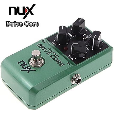 Effetto elettrico Uniry (TM) Mini drive NOCE Nucleo Pedale Miscela di Boost e Overdrive del suono vero bypass chitarra Parts - Fender Noci