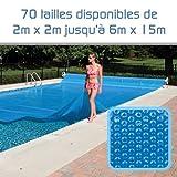 Linxor ® Pool Solarfolie Solarabdeckplane Poolheizung 300 μm Zugeschnittene / 70 verfügbare Größen / EG-Norm