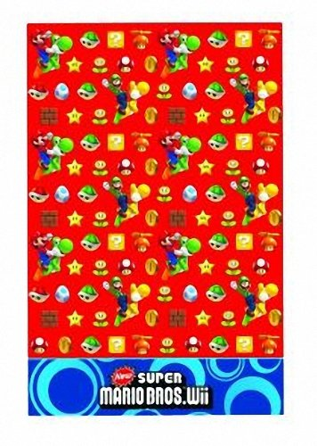 Super Mario Bros. Wii Party Tisch (Party Supplies Bros Super Mario)