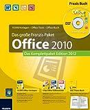 Das große Franzis Paket Office 2010 - Edition 2012