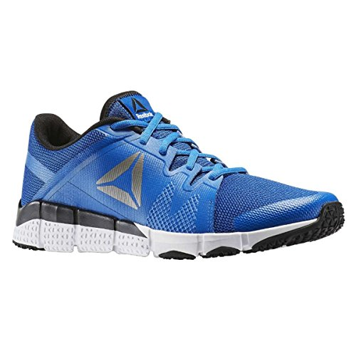 Reebok Trainflex, Sneaker Basses Homme Bleu (Awesome Blue/wht/blk/pewter)