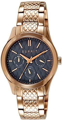 Esprit Damen-Armbanduhr Elsa Analog Quarz Edelstahl ES107912002