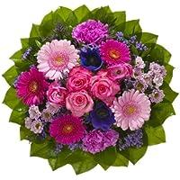 """Dominik Blumen und Pflanzen, Blumenstrauß """"Magic"""" mit Rosen, Gerbera, Anemonen, Nelken und Ranunkeln"""