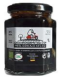 Miel à l'ail noir BIO d'Espagne (naturel, sans colorants ni conservateurs, délicieux, artisanal, un pot, 240g), de Losquesosdemitio