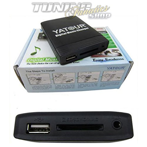 USB SD MP3 Aux In CD Wechsler Adapter Interface Original HU Radio