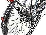 Prophete Damen E-Bike Navigator 2.1 24-Gang Acera, Platingrau/Matt, 50 cm, 52525-0111 -