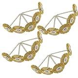 Cnmade filo di ottone pennello ruota lucidatura ruote abrasive Cup spazzole per smerigliatrice Dremel Rotary Tools 2.35mm pezzi