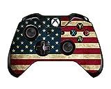 #6: Elton Xbox One Controller Designer 3M Skin for Xbox One, DualShock Remote Wireless Controller - USA Flag, Skin for One Controller Only