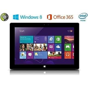 """Point de View Tab-p1001W RS-2321001W RS-23225,40cm (10"""") Tablette PC (Intel Atom Z3735, 1,8GHz, 2Go de RAM, 32Go HDD, Win 8Écran tactile Noir"""
