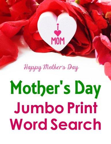 Mother's Day Jumbo Print Word Search (Jumbo Print Puzzle Books)