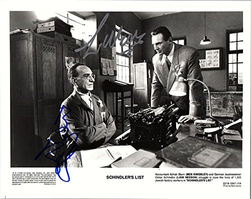 signed-schindlers-list-ben-kinsley-liam-neeson-bw-8x10-photo-by-ben-kingsley-and-liam-neeson-autogra