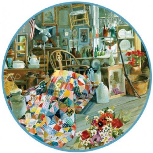 Antiquitäten Puzzle (Puzzle 500 Teile - Antiquitäten (Rundpuzzle)  - SunsOut 50652)