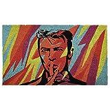 Pad - Fußmatte/Fußabtreter - Kokosmatte - Pop Art - David Bowie - 45 x 75 cm